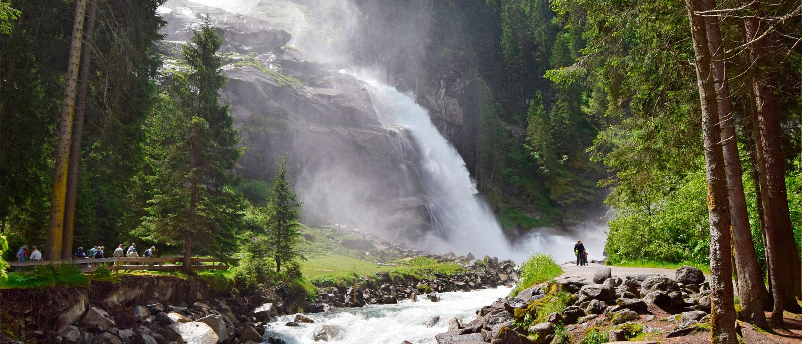 Krimml Waterfalls Hohe Tauern National Parc